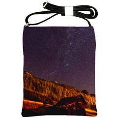 Italy Cabin Stars Milky Way Night Shoulder Sling Bags
