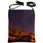 Italy Cabin Stars Milky Way Night Shoulder Sling Bags Front