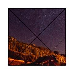 Italy Cabin Stars Milky Way Night Acrylic Tangram Puzzle (6  X 6 )