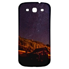 Italy Cabin Stars Milky Way Night Samsung Galaxy S3 S Iii Classic Hardshell Back Case