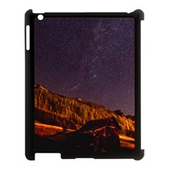 Italy Cabin Stars Milky Way Night Apple Ipad 3/4 Case (black)