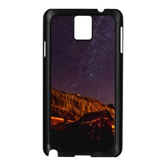 Italy Cabin Stars Milky Way Night Samsung Galaxy Note 3 N9005 Case (black) by BangZart