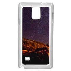 Italy Cabin Stars Milky Way Night Samsung Galaxy Note 4 Case (white)