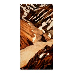 Iceland Mountains Snow Ravine Shower Curtain 36  X 72  (stall)  by BangZart