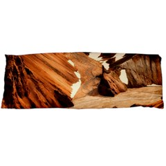 Iceland Mountains Snow Ravine Body Pillow Case (dakimakura)