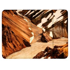 Iceland Mountains Snow Ravine Samsung Galaxy Tab 7  P1000 Flip Case