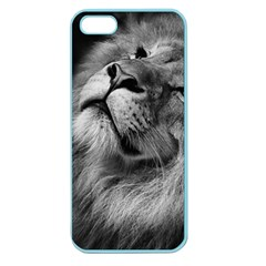 Feline Lion Tawny African Zoo Apple Seamless Iphone 5 Case (color)