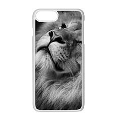 Feline Lion Tawny African Zoo Apple Iphone 7 Plus Seamless Case (white)