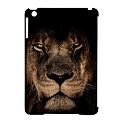 African Lion Mane Close Eyes Apple Ipad Mini Hardshell Case (compatible With Smart Cover)