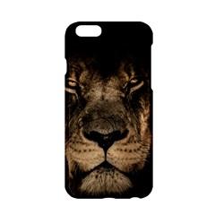 African Lion Mane Close Eyes Apple Iphone 6/6s Hardshell Case