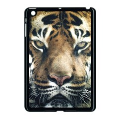 Tiger Bengal Stripes Eyes Close Apple Ipad Mini Case (black)