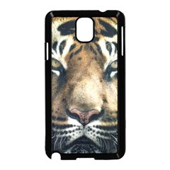 Tiger Bengal Stripes Eyes Close Samsung Galaxy Note 3 Neo Hardshell Case (black)