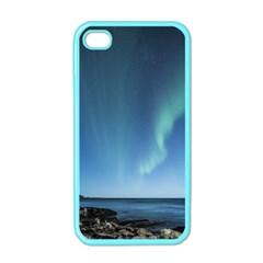 Aurora Borealis Lofoten Norway Apple Iphone 4 Case (color)
