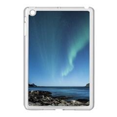 Aurora Borealis Lofoten Norway Apple Ipad Mini Case (white)