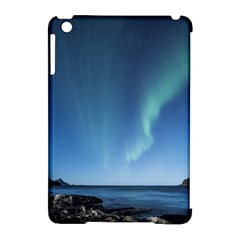Aurora Borealis Lofoten Norway Apple Ipad Mini Hardshell Case (compatible With Smart Cover) by BangZart