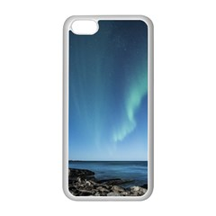 Aurora Borealis Lofoten Norway Apple Iphone 5c Seamless Case (white)