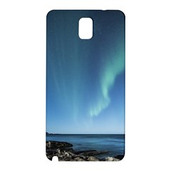 Aurora Borealis Lofoten Norway Samsung Galaxy Note 3 N9005 Hardshell Back Case