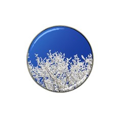 Crown Aesthetic Branches Hoarfrost Hat Clip Ball Marker (4 Pack)