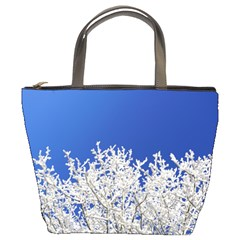 Crown Aesthetic Branches Hoarfrost Bucket Bags