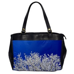Crown Aesthetic Branches Hoarfrost Office Handbags