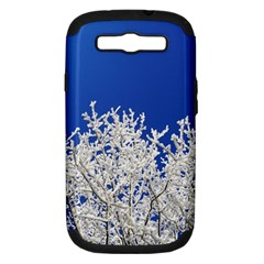 Crown Aesthetic Branches Hoarfrost Samsung Galaxy S Iii Hardshell Case (pc+silicone)