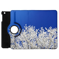 Crown Aesthetic Branches Hoarfrost Apple Ipad Mini Flip 360 Case