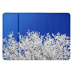 Crown Aesthetic Branches Hoarfrost Samsung Galaxy Tab 8 9  P7300 Flip Case