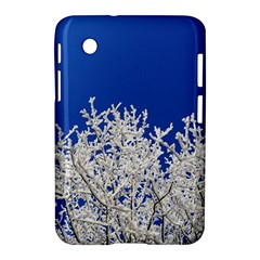 Crown Aesthetic Branches Hoarfrost Samsung Galaxy Tab 2 (7 ) P3100 Hardshell Case