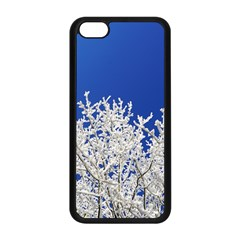 Crown Aesthetic Branches Hoarfrost Apple Iphone 5c Seamless Case (black)
