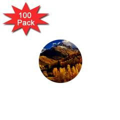 Colorado Fall Autumn Colorful 1  Mini Buttons (100 Pack)