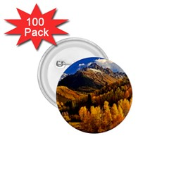 Colorado Fall Autumn Colorful 1 75  Buttons (100 Pack)