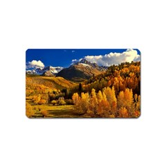 Colorado Fall Autumn Colorful Magnet (name Card) by BangZart