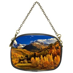 Colorado Fall Autumn Colorful Chain Purses (one Side)  by BangZart