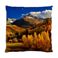Colorado Fall Autumn Colorful Standard Cushion Case (one Side) by BangZart
