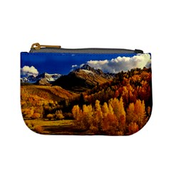 Colorado Fall Autumn Colorful Mini Coin Purses by BangZart