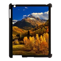 Colorado Fall Autumn Colorful Apple Ipad 3/4 Case (black) by BangZart