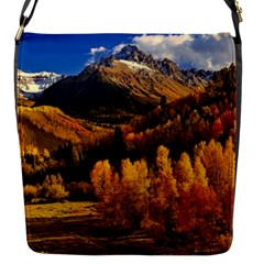 Colorado Fall Autumn Colorful Flap Messenger Bag (s) by BangZart