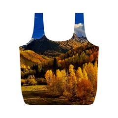 Colorado Fall Autumn Colorful Full Print Recycle Bags (m)  by BangZart