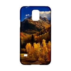 Colorado Fall Autumn Colorful Samsung Galaxy S5 Hardshell Case