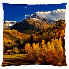 Colorado Fall Autumn Colorful Standard Flano Cushion Case (two Sides)