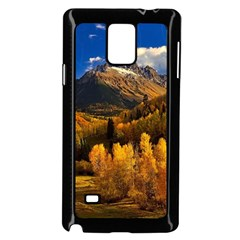 Colorado Fall Autumn Colorful Samsung Galaxy Note 4 Case (black)