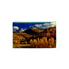 Colorado Fall Autumn Colorful Cosmetic Bag (xs)