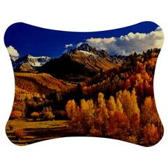 Colorado Fall Autumn Colorful Jigsaw Puzzle Photo Stand (bow) by BangZart