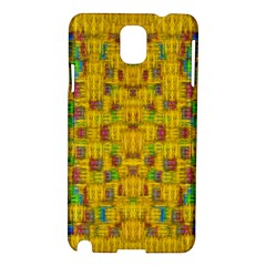 Rainbow Stars In The Golden Skyscape Samsung Galaxy Note 3 N9005 Hardshell Case by pepitasart