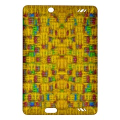 Rainbow Stars In The Golden Skyscape Amazon Kindle Fire Hd (2013) Hardshell Case by pepitasart