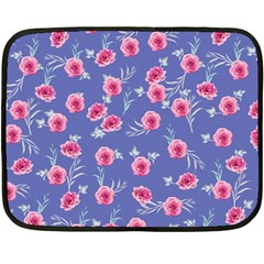 Roses And Roses Fleece Blanket (mini) by jumpercat