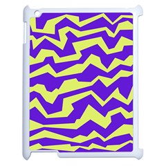 Polynoise Vibrant Royal Apple Ipad 2 Case (white) by jumpercat