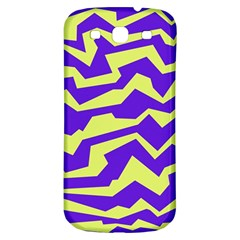 Polynoise Vibrant Royal Samsung Galaxy S3 S Iii Classic Hardshell Back Case by jumpercat