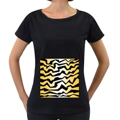 Polynoise Tiger Women s Loose Fit T Shirt (black) by jumpercat