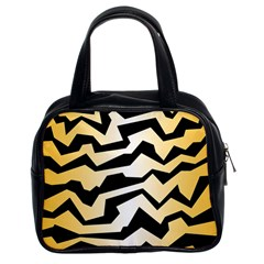 Polynoise Tiger Classic Handbags (2 Sides) by jumpercat